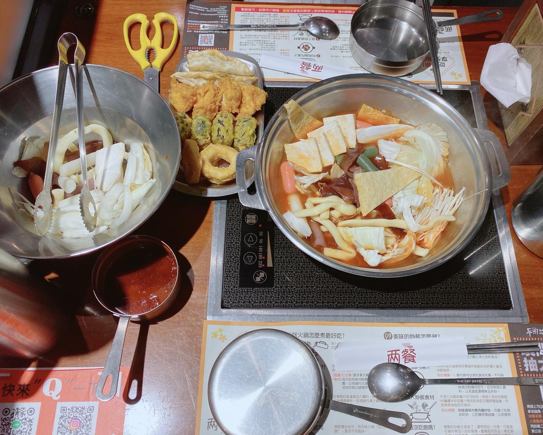『 兩餐 』 두끼 韓國年糕火鍋吃到飽 中友店