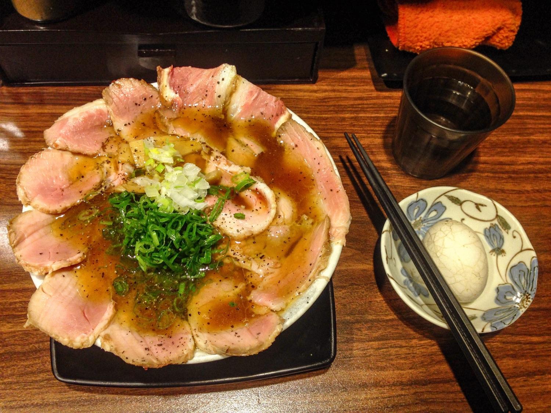 鷹流東京醬油拉麵蘭丸 延吉店