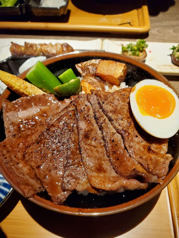 大河屋燒肉丼串燒 新竹巨城