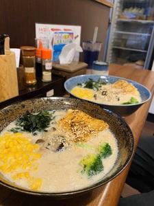 萩豆乳拉麵