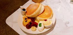 Cafe del sol 舒芙蕾鬆餅