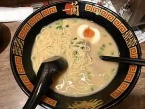 東京一蘭拉麵 中野店