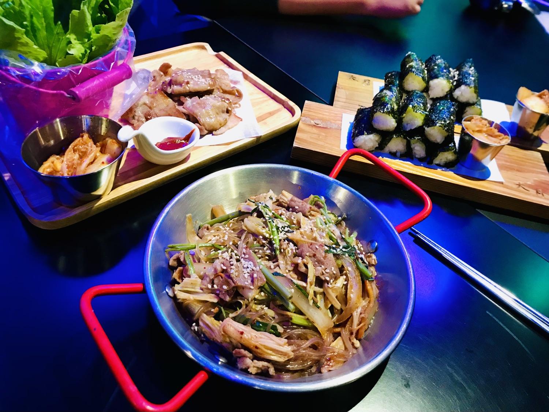 大月韓式創意料理