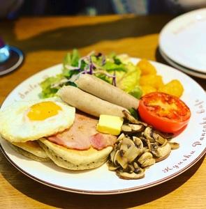 九州鬆餅咖啡 九州パンケーキカフェ 台北富錦店