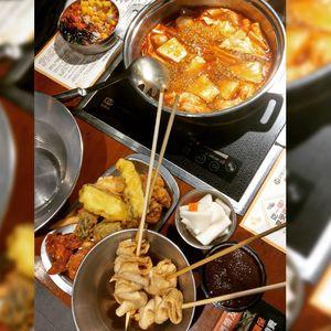 『 兩餐 』 두끼 韓國年糕火鍋吃到飽 忠孝店